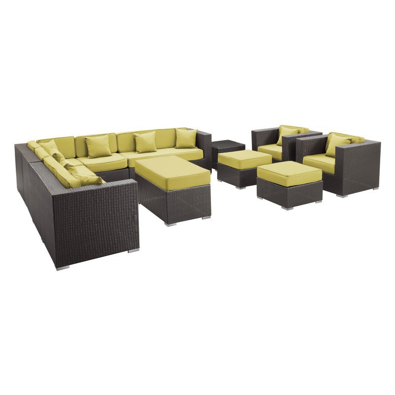 2015 set rattan lounge sofa poolside used outdoor