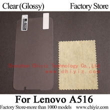 Clear Glossy LCD Screen Protector Guard Cover Protective Film Shield For Lenovo A516