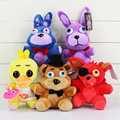 2016 Five Nights at Freddy Plush Toy Bear Rabbit Bonnie Fox Duck Animals Toys Brithday Gift