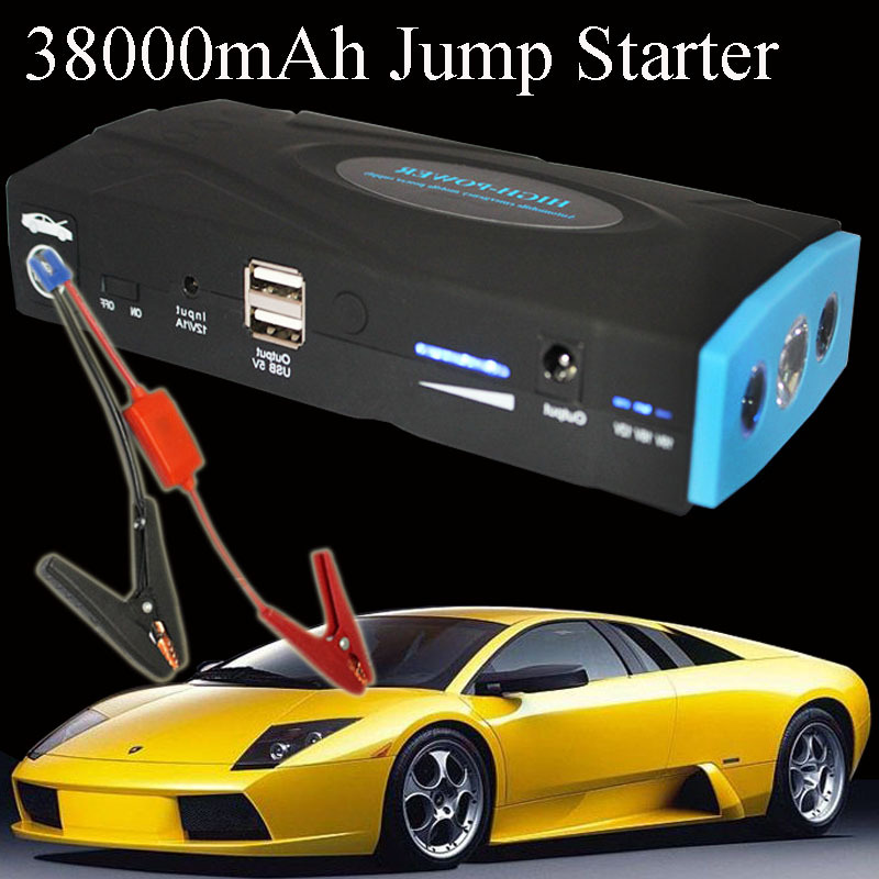 38000mah multi function car battery charger portable mini jump starter phone power bank laptop. Black Bedroom Furniture Sets. Home Design Ideas