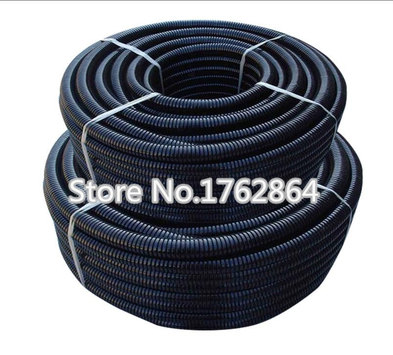 5m Lot PE Plastic Corrugated Pipe 12ffd3a680cbc