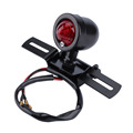 Motorcycle Black Retro Brake Stop Rear Tail Light Lamp For Harley Chopper SU A24