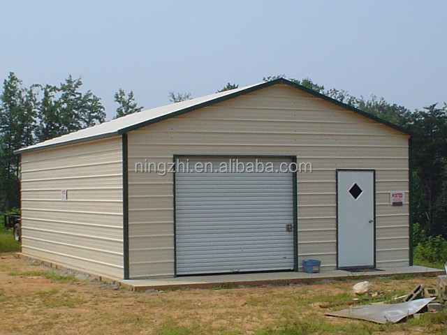 Prefab Garages Direct From The: Prefab Metal Garages/prefabricated Garage Kits, View