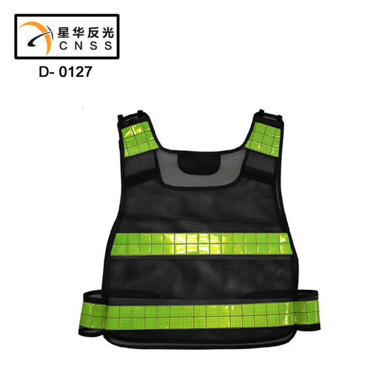 2015 безопасности дорожного движения одежды светоотражающие жилеты, Сетка решетки хеджирования жилет безопасности, Бесплатная доставка