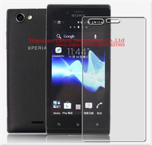 2 x High Quality Clear Glossy Screen Protector Film Guard Cover For Sony Xperia J ST26 ST26i ST26a Sony JLo