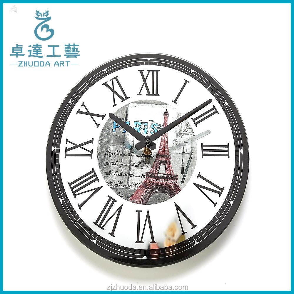 Home Goods Clocks: Home Goods Decorative Digital Glass Wall Clock Machine