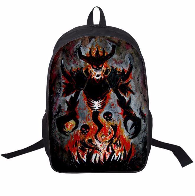ᗖnew Design World Of Warcraft Warcraft Bag Wow Printing