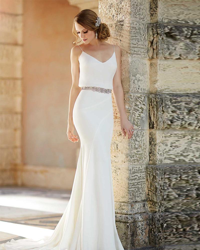 2016 Simple Greek Beach Wedding Dresses One Shoulder: Aliexpress.com : Buy Vestido De Novia 2015 Beach Chiffon