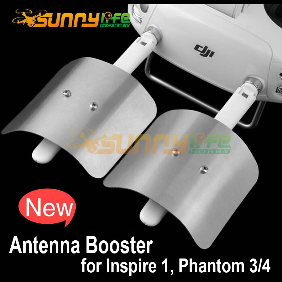 DJI Phantom 4 3 Inspire 1 Remote Controller Enhance Board Extended Range Parabolic Antenna Signal Booster