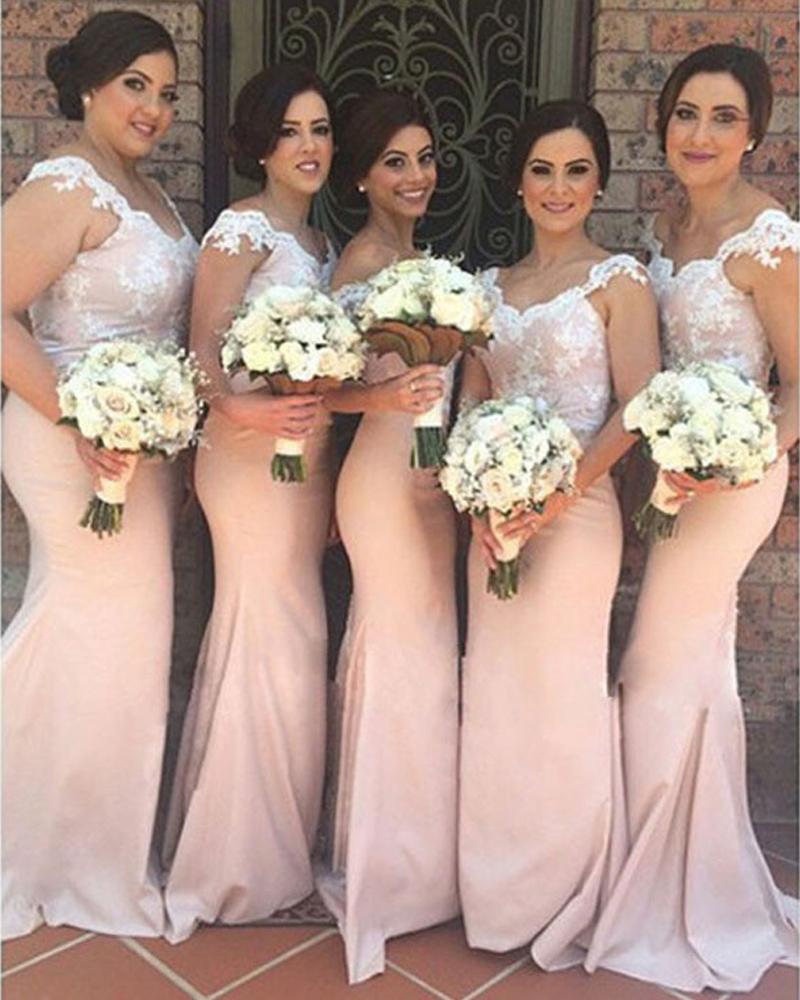 2dbb7f1d3 Vestidos dama de honor color coral - Elegante vestido de moda de ...