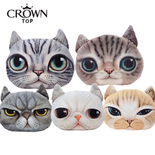 2015 new! Nordic Chair Pillow Personality Car Cushion Cover Creative Handsome Cat shape Nap pillow Cover Cute seat cushion 5236