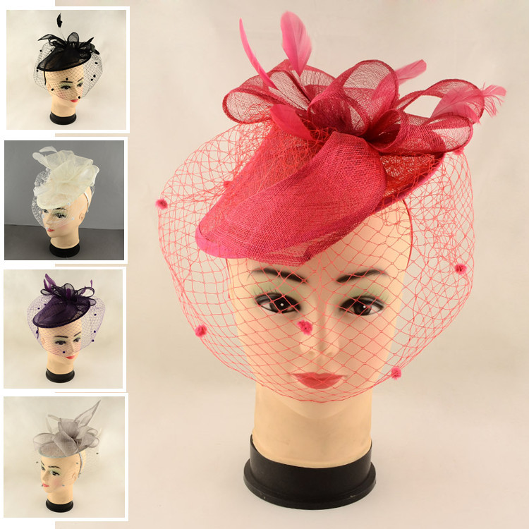 Popular Red Fascinator Hats-Buy Cheap Red Fascinator Hats ...