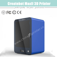 Hot Printer 3D Blue/Black/Silver Metal Case Dual-Extruder Createbot Max 3D Printer With Heatbed Made in China on Sale