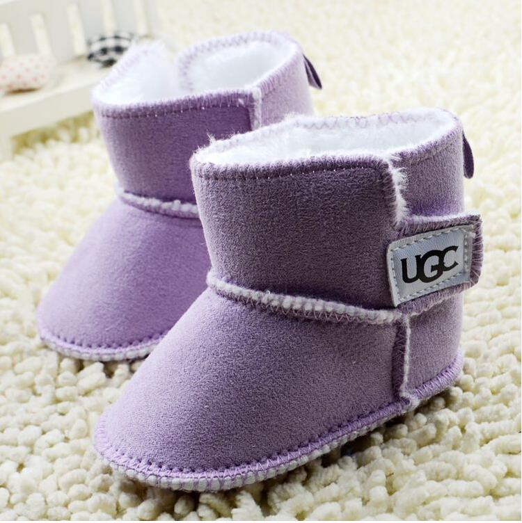 A1 2583 Baby shoes baby boy boots infant warm winter boots