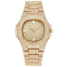36 мм 41 мужские часы люксовый бренд Мужские кварцевые наручные часы из нержавеющей стали Rolexable Diamond мужские водонепроницаемые часы relojes hombre(Китай)