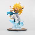 F Zero Anime Dragon Ball Z Son GOKU Super Saiyan 3 Gotenks Action Figures PVC Limit