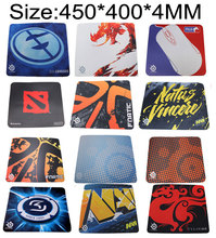 OEM SteelSeries Mouse Pad 450*400*4 QCK+ NAVI Natus Vincere FNATIC DOTA MLG sk gaming frost blue NIP gamer large size MICE mat