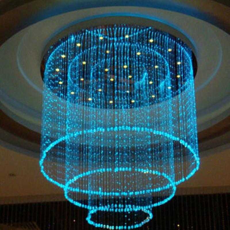 2019 Wholesale Fiber Optic Lamp Colorful Curtain Curtain
