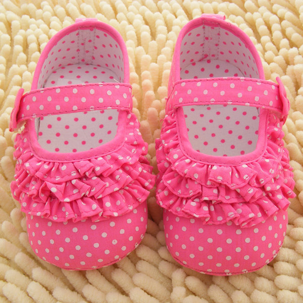 Infant Baby Girl First Walkers Soft Sole Crib Shoes Toddler Sneaker Baby Shoes 0-18 Months