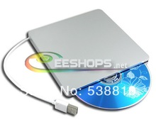 Free DHL Shipping USB SuperDrive for Apple Mac Laptop Computer 8X DVD RW RAM DL Burner 24X CD Writer Super Slim Optical Drive