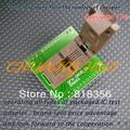 על ZHIYUAN TSOP48 מתאם, ZY248A מתכנת מתאם באיכות גבוהה מצופה זהב אנשי קשר (IC191)
