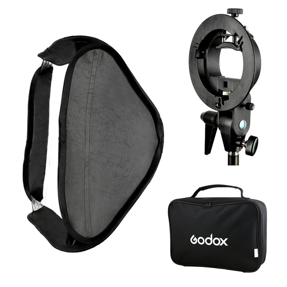 Godox Umbrella Softbox Price In Pakistan: Godox S-Type Flash Speedlite Bracket Mount Holder + 60 X