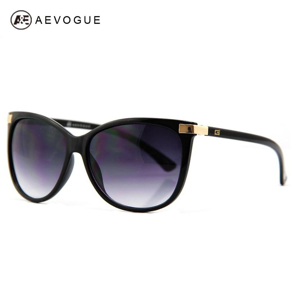 AEVOGUE Free Shipping Newest Cat Eye Classic Brand Sunglasses Women Hot Selling Sun Glasses Vintage Oculos