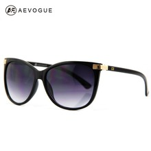 AEVOGUE Free Shipping with Original case Newest cat eye Classic brand len box glasses sunglasses women vintage FDA AE0098