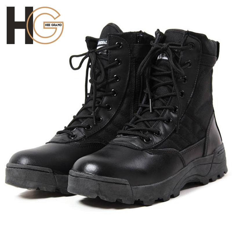 Men S Desert Hiking Boots Army Special Forces Tactical