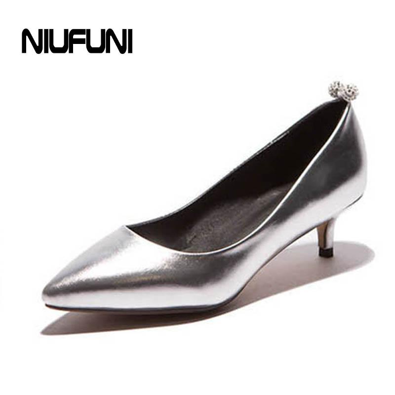 Online Get Cheap Silver Low Heels -Aliexpress.com