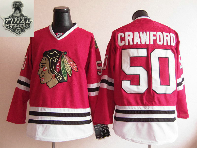 purchase mens chicago blackhawks 50 corey crawford 2015 stanley cup red  jersey 482f2 546d3 fcf3c001a