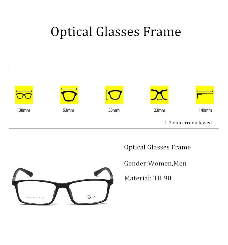54daf2e41a6 2019 Chashma Slim TR 90 Light Eye Glasses Rectangle Frame Girl And ...