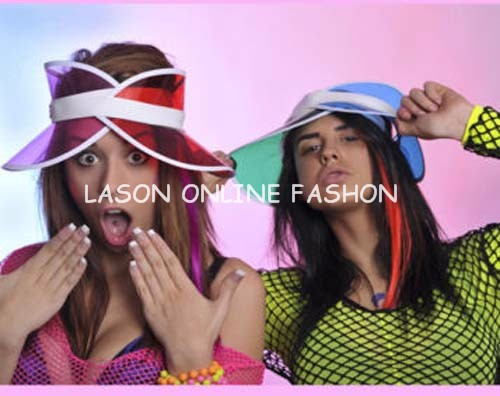 950e4aa5403 Colourful and very stylish summer visor for holidays. Great for parties