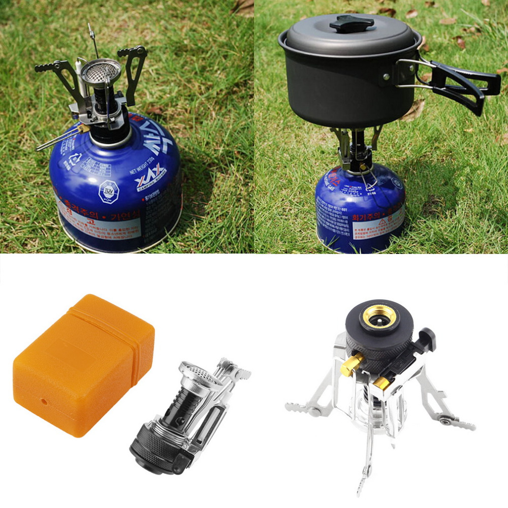 Portable Outdoor Foldable Mini Stove Free Shipping Worldwide