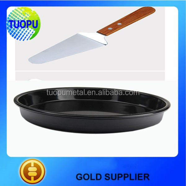 China Round Electric Pizza Pan For Sale Pizza Pan In Hot