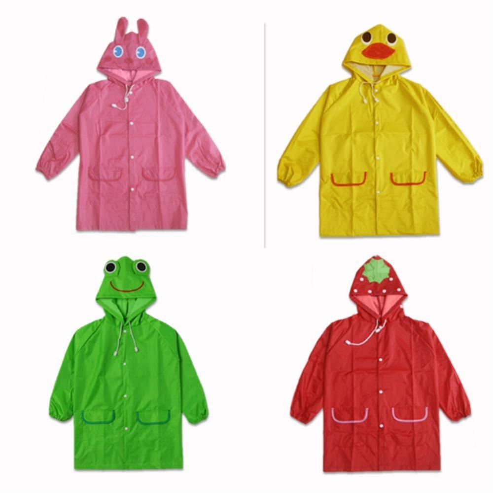 Дети дождь пальто дети плащ дождевики непромокаемый плащ дети водонепроницаемый животное плащ EQZ224