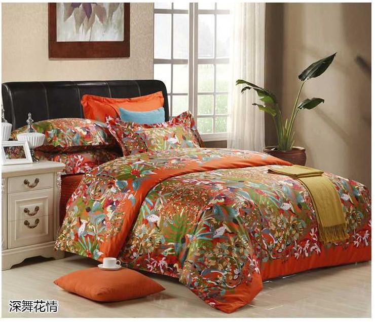 Orange Quilt Cover Promotion Online Shopping For