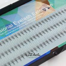 2016 novo de seda da pestana 0.07 C onda 3D indivíduo extensão dos cílios vison Soft Black falso falso Lashes Eye