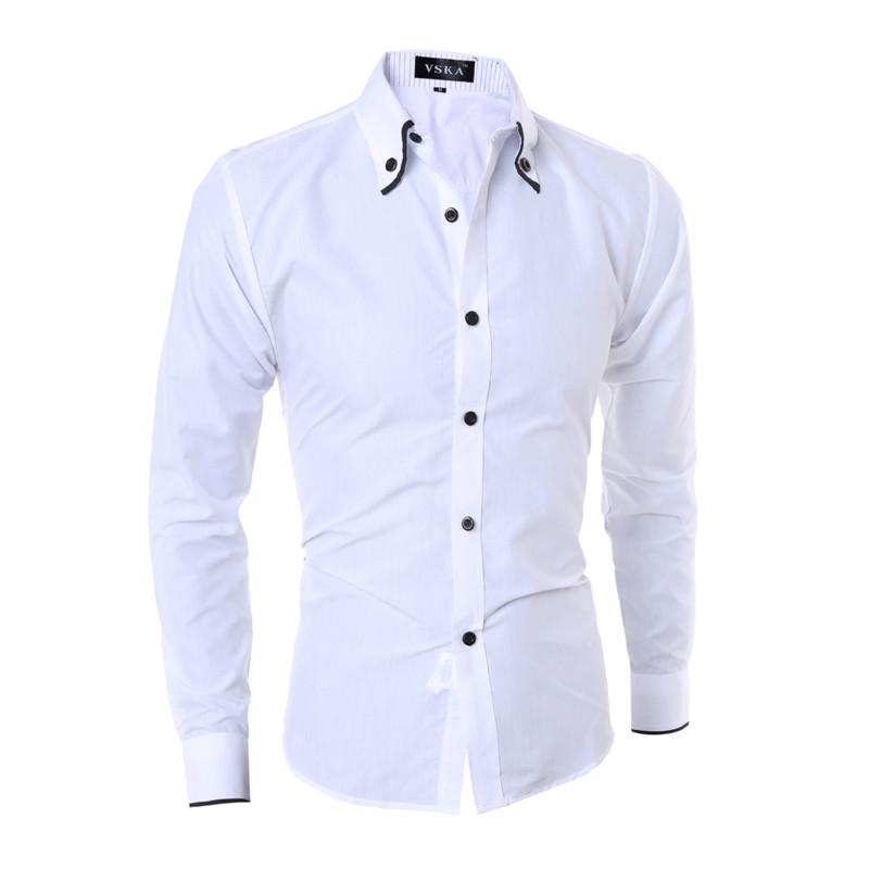 1335d3a58d9783 Cheap Custom T Shirts 2017 | Is Shirt - Part 543. Slim Fit White Button ...