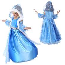 Kostým Anny a Elsy z Ledového království z Aliexpress