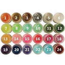 2016 beauty high quality 8ml Glitter Powder Glue Nail Polish Soak Off UV Lamp Gel new