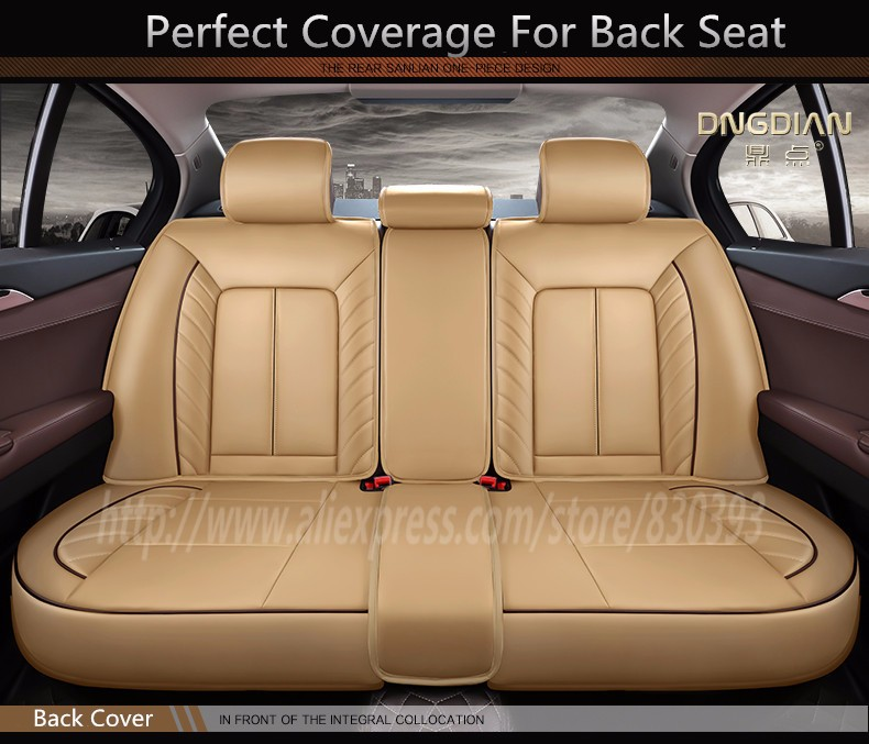 New 3d Styling Car Seat Cover For Bmw F10 F11 F15 F16 F20