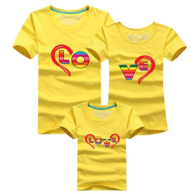 Новое семейство соответствующие одежды хлопок дети футболка летние соответствия мать дочь одежды с коротким рукавом хлопка семья взгляд футболки