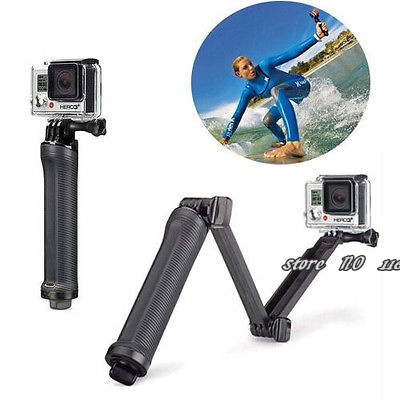 3 Way Grip Pole For GoPro Cameras - 3-way Grip Tripod Extension Pole Arm