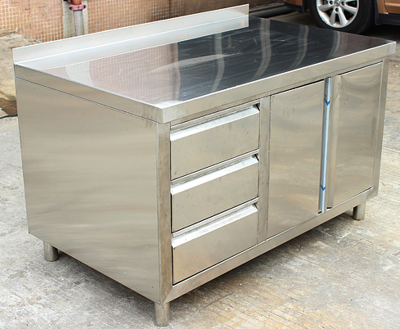 Commercial Kitchen Table With Drawers