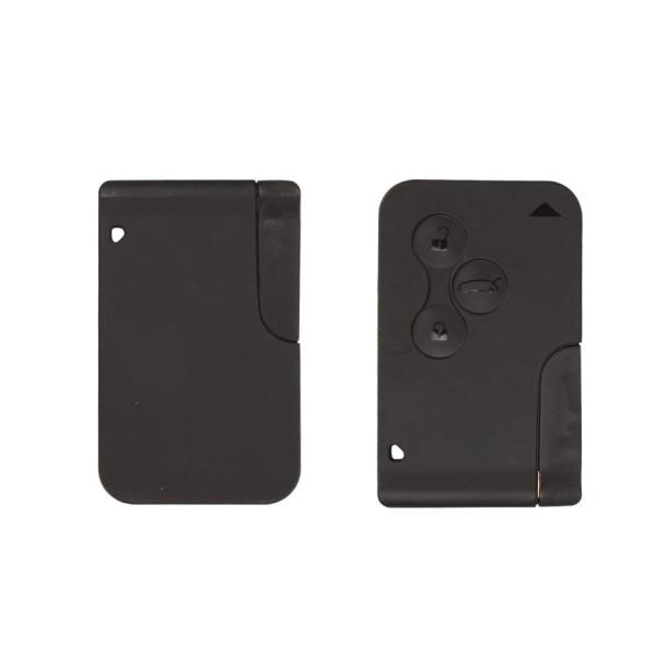Бесплатная доставка 5 шт./лот высокое качество для Renault Megane карточку-ключ, Для Renault Megane 3 кнопки радиобрелока с 433 мГц и чип