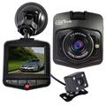 Original Novatek Dash Cam GT300 Dual Lens Car DVRs Camera Full HD 1080P Video Registrar With