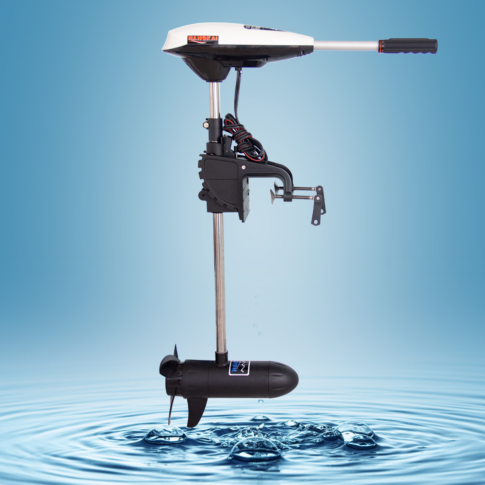 Marine 45LBS Electric Outboard Trolling Motor for Fishing ...