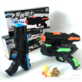 The Latest Soft Bullet Gun Water Gun Toy EVA Bullet Water Bomb Dual purpose Pistol Bursts