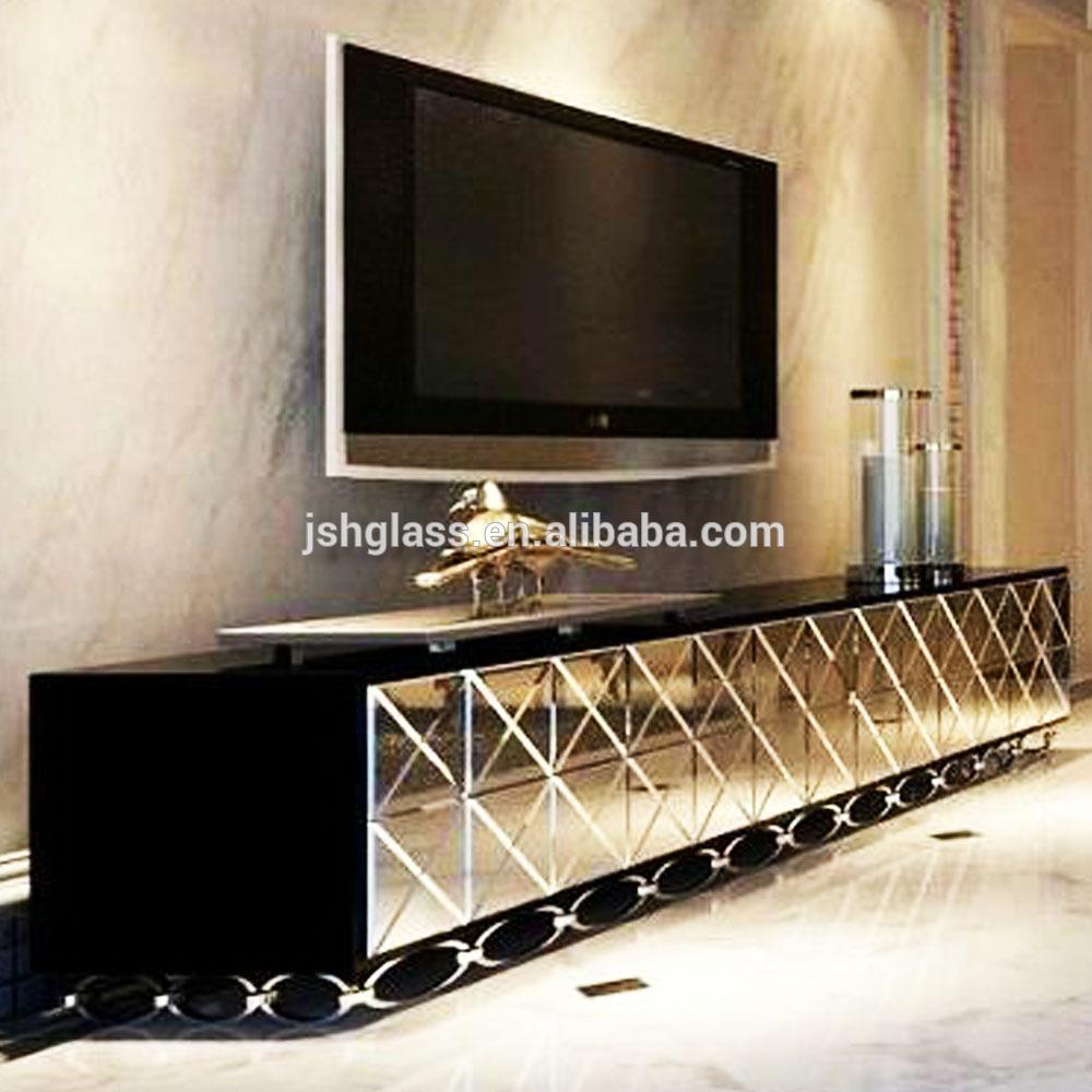 jsq004 miroir de salon meubles tv stand miroir tv m dias meubles tv stand miroir tv console tv. Black Bedroom Furniture Sets. Home Design Ideas